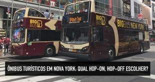 Preço do bus turístico de NY