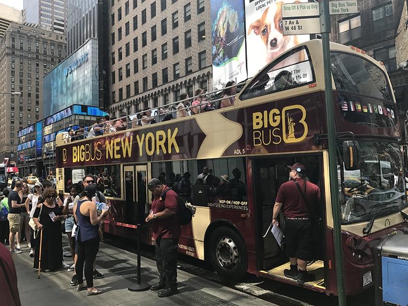 Melhor ônibus turísticos em Nova York