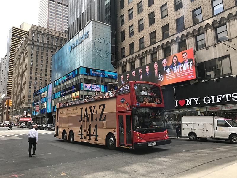 Vale a pena pegar o bus turístico em NY