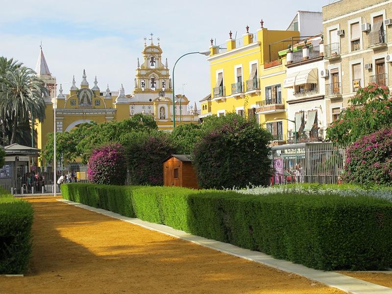 Pontos de turismo em Sevilha