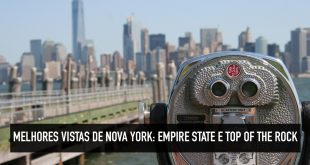 Vistas do Empire State e Top of The Rock