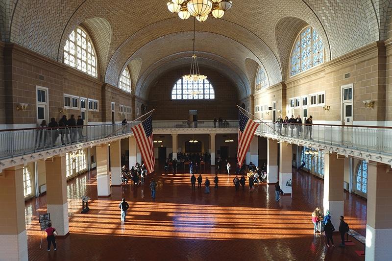 Passeio até a Ellis Island