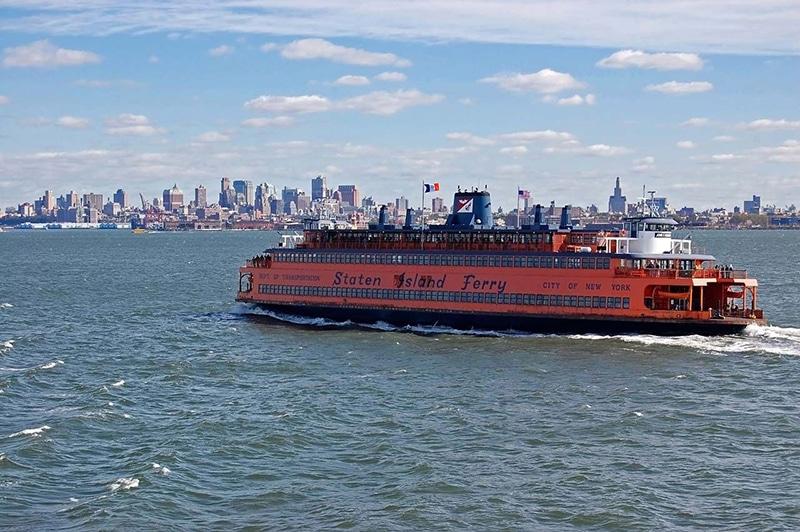 Quanto custa o ingresso da balsa até a Liberty Island