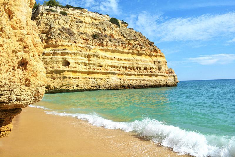 Melhores praias no Algarve