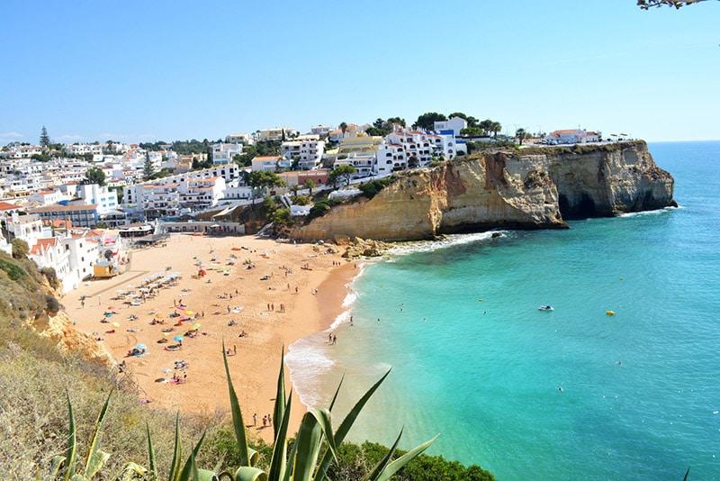 Roteiro de praias do Algarve