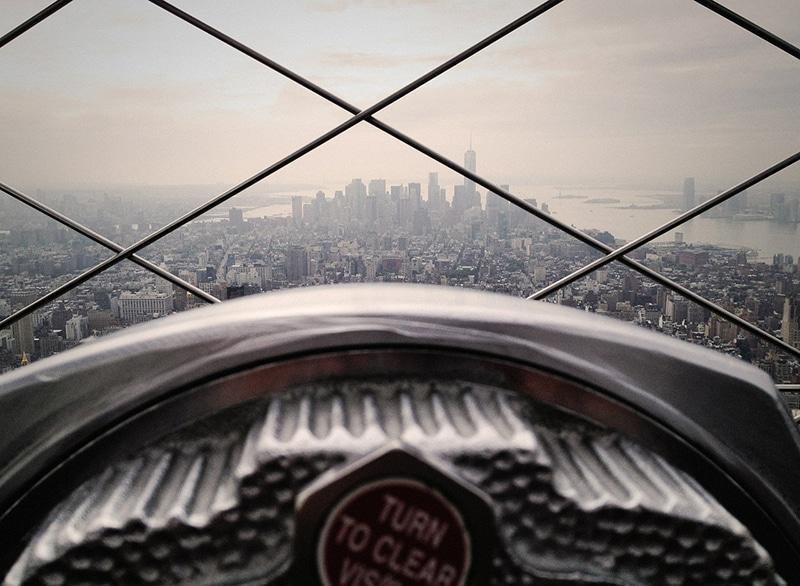 Binóculos do Empire State Building
