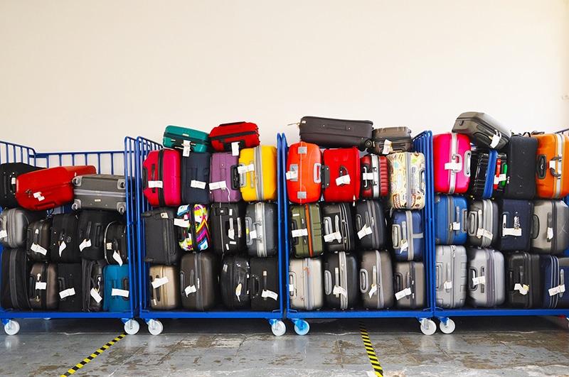 Como embarcar a mala em segurança