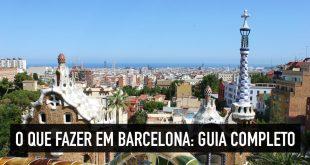O que fazer em Barcelona, na Espanha