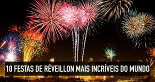 Festas de ano novo famosas do redor do mundo