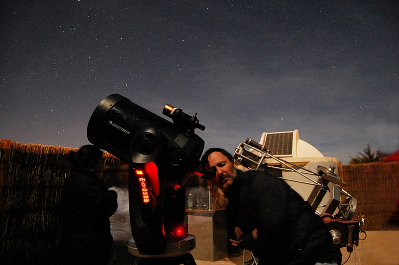 Passeio astronômico do Atacama