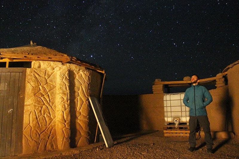 Tour astronômico no Atacama
