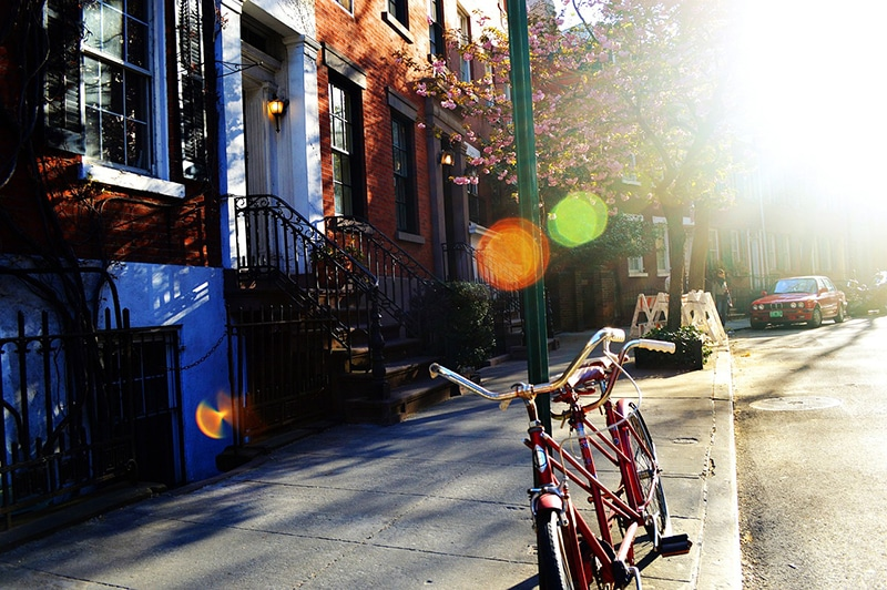 Bairro cultural em Nova York