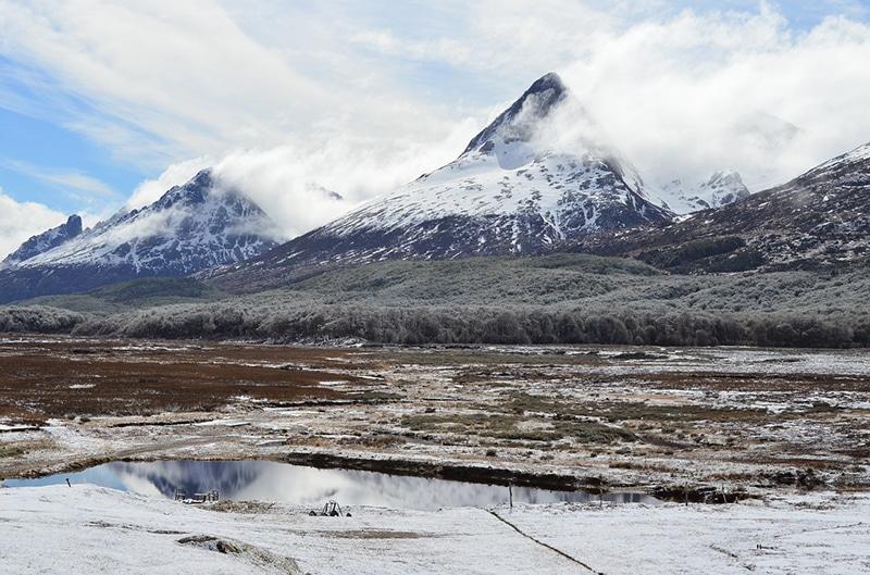 Quando é inverno em Ushuaia