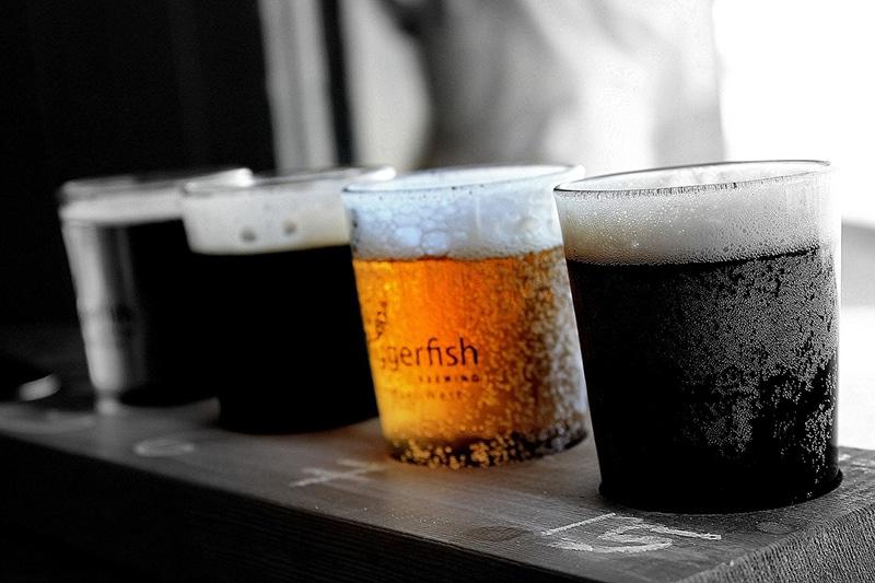 Cervejas artesanais em Ushuaia