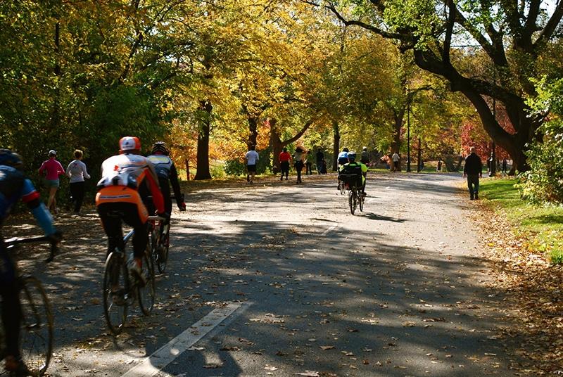 Como andar de bicicleta no Central Park em Nova York