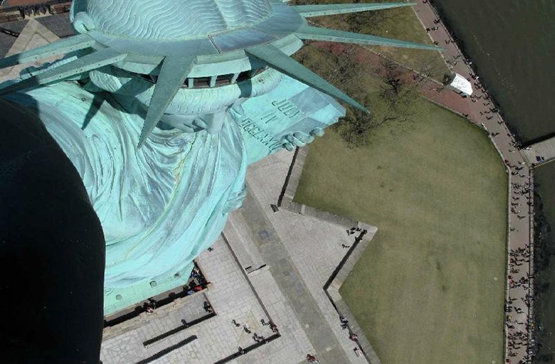Qual é o preço para subir na Estátua da Liberdade