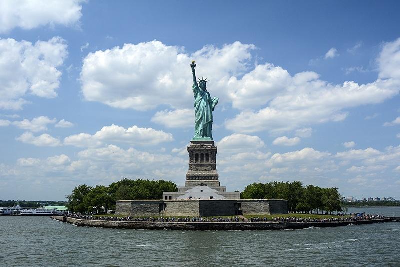 Artigo de como visitar a Estátua da Liberdade em NY