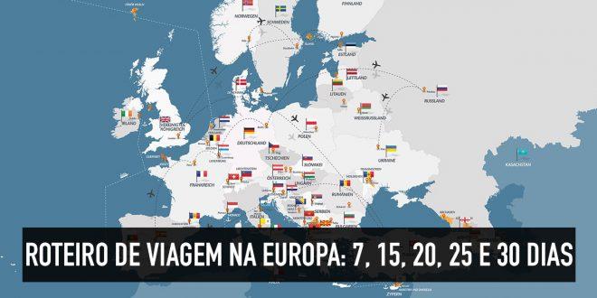 Roteiro europa 30 dias adelgazar