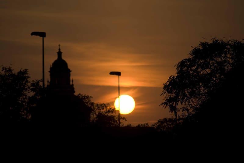 Temperatura no verão em Sevilha chega a 40 graus