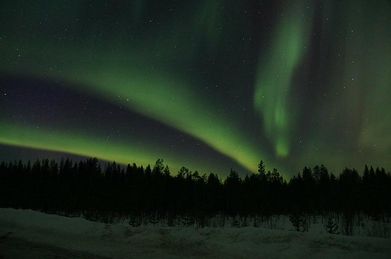 Roteiro para ver a aurora boreal
