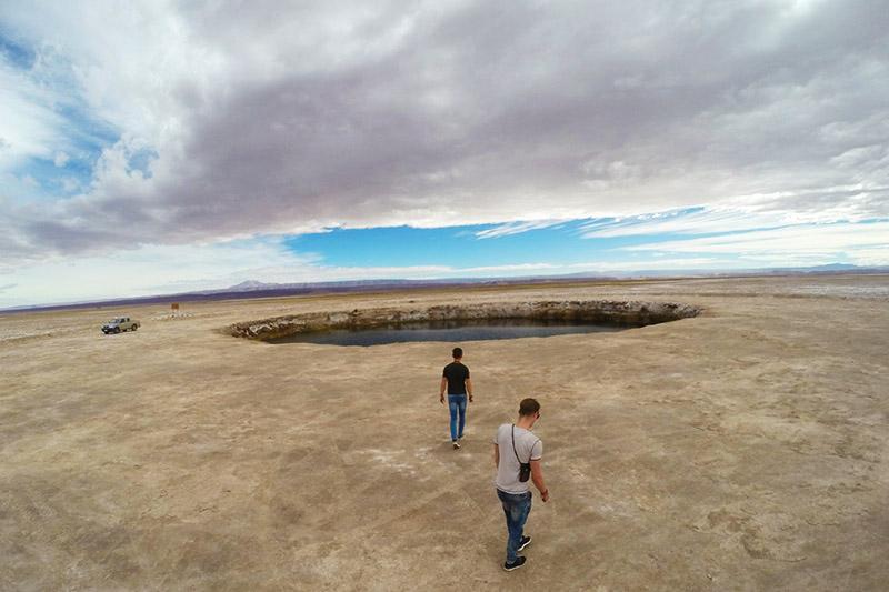 Ojos del Salar, no Atacama