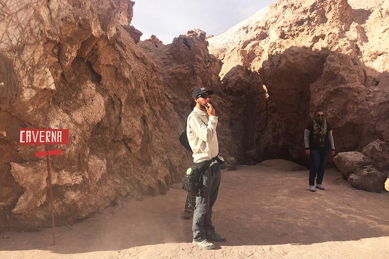 Vale da Lua do Deserto do Atacama