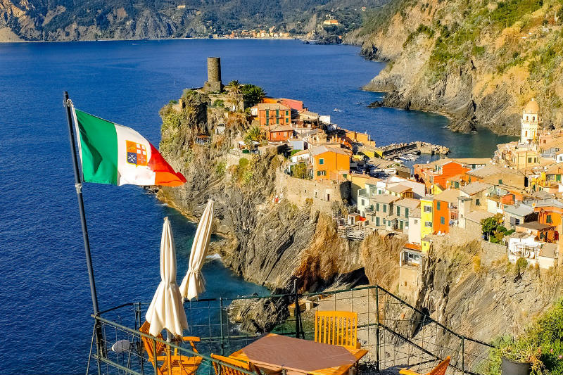Qual é a melhor praia de Cinque Terre