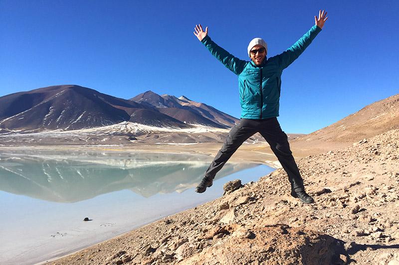 Laguna Tuyaito no Atacama