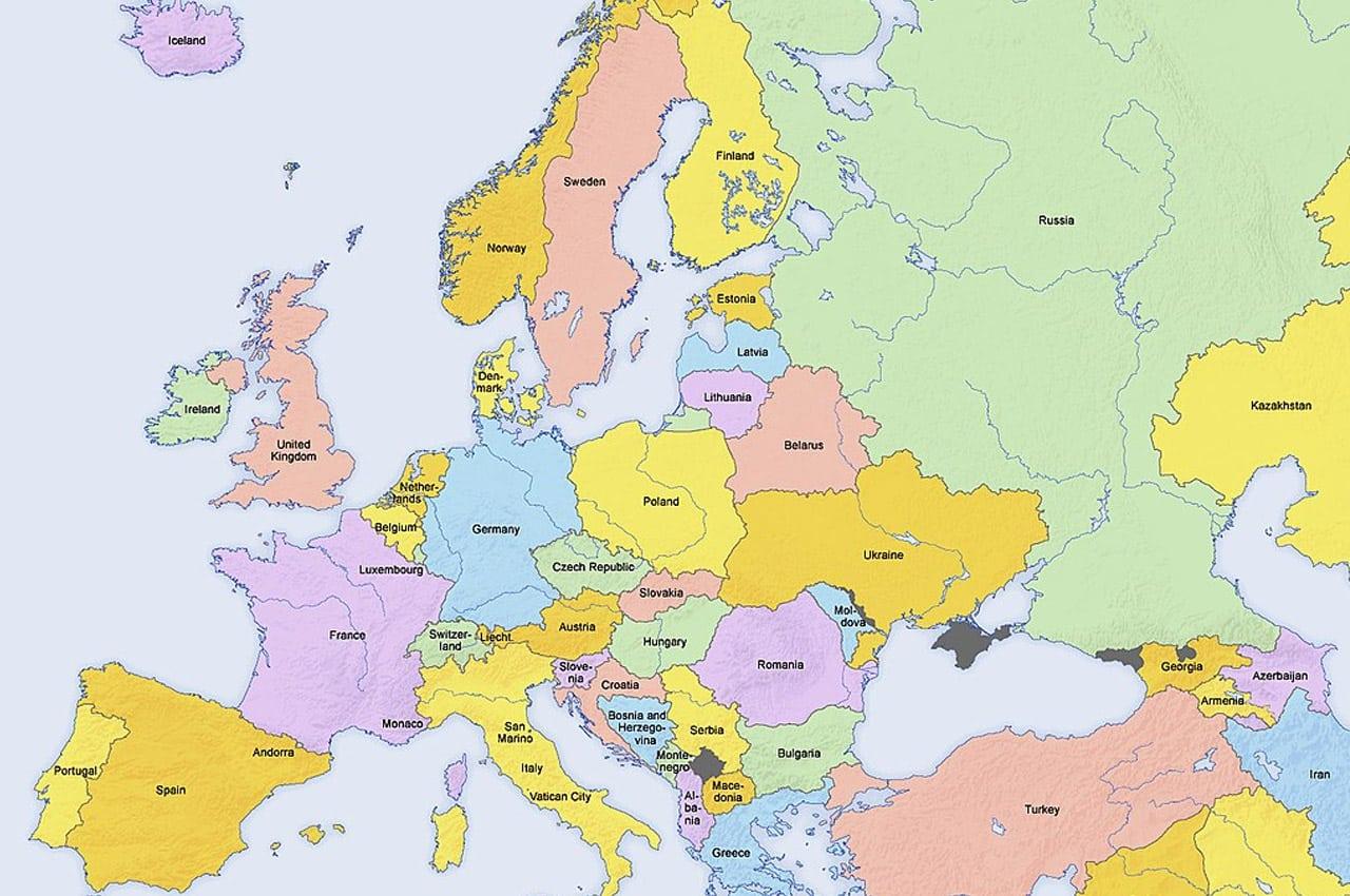 Sugestão de roteiro na Europa