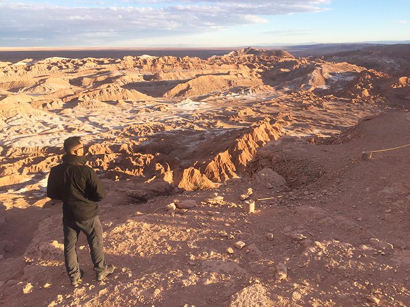 Mirante da Pedra do Coyote, no Atacama