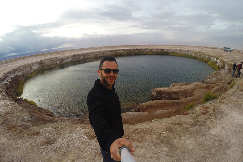 Ojos del Salar, no Deserto do Atacama