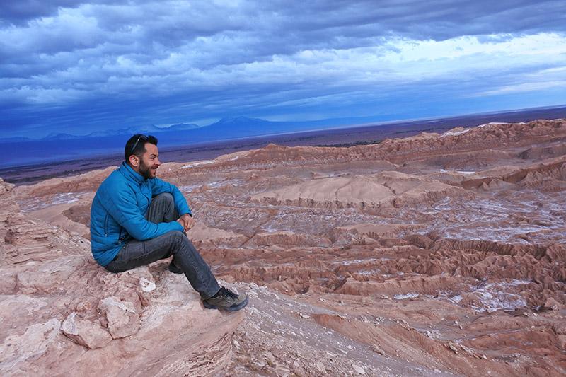 Pedra do Coyote, no Atacama