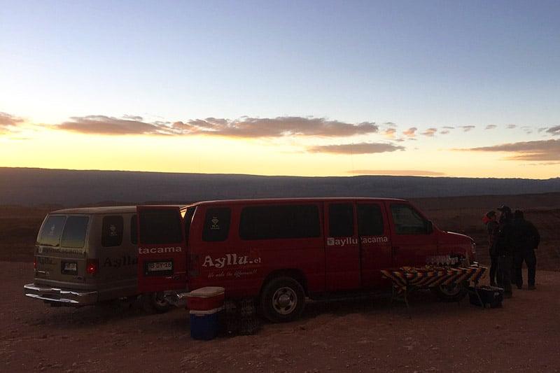 Tour no Vale da Morte, Atacama