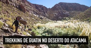 Vale do Guatin no Deserto do Atacama