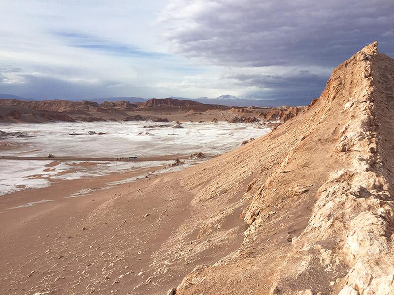 Vale da Lua, no Atacama