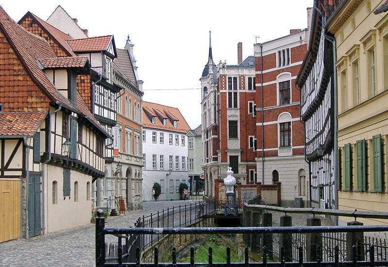 cidades próximas de Berlim Quedlinburg