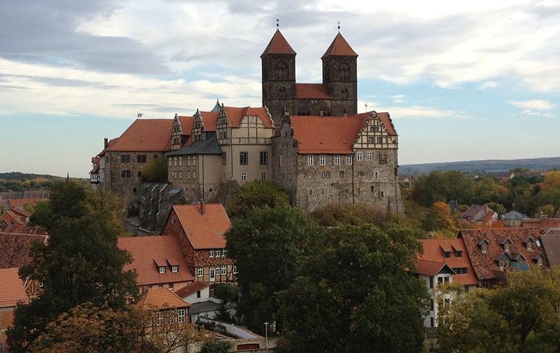 Como ir de Berlim para Quedlinburg