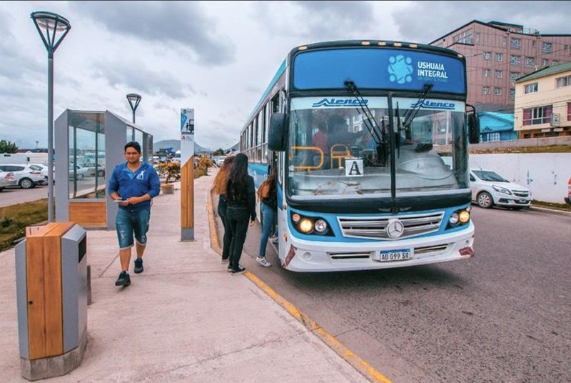 Transporte público em Ushuaia