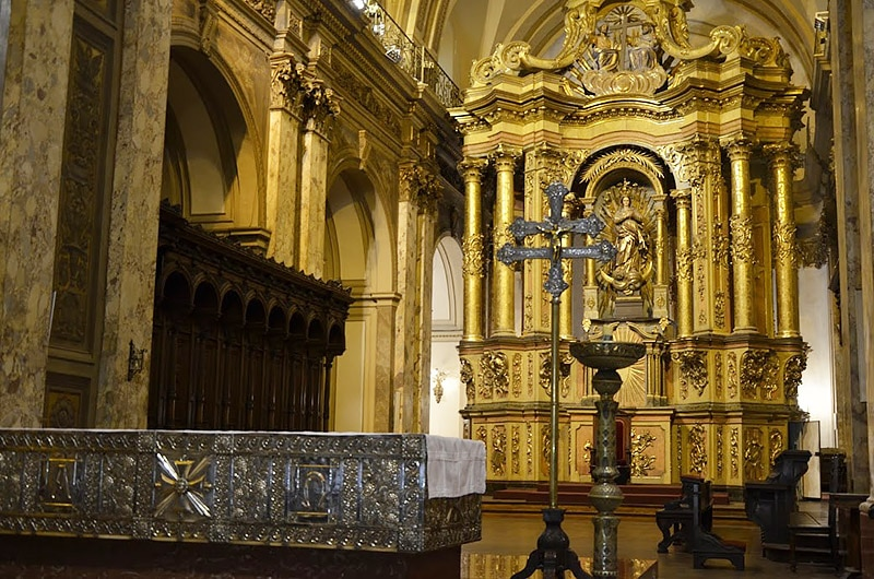 Igreja do papa em Buenos Aires