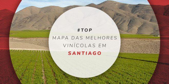 Vinícolas próximas de Santiago