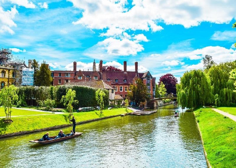 Fazer intercâmbio em Cambridge