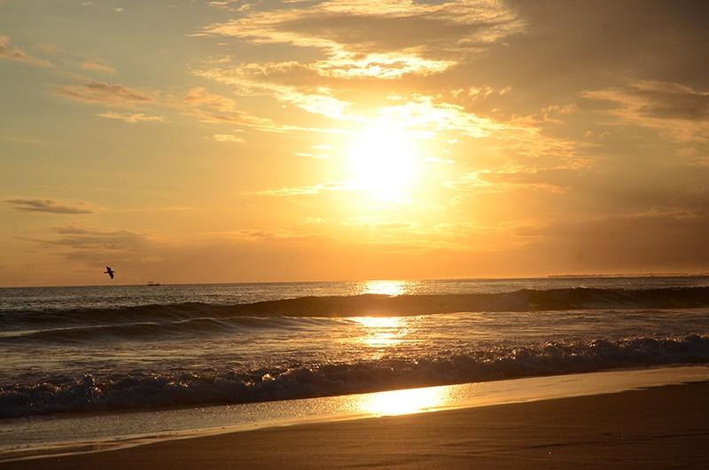 Onde ver o pôr do sol da Praia Grande