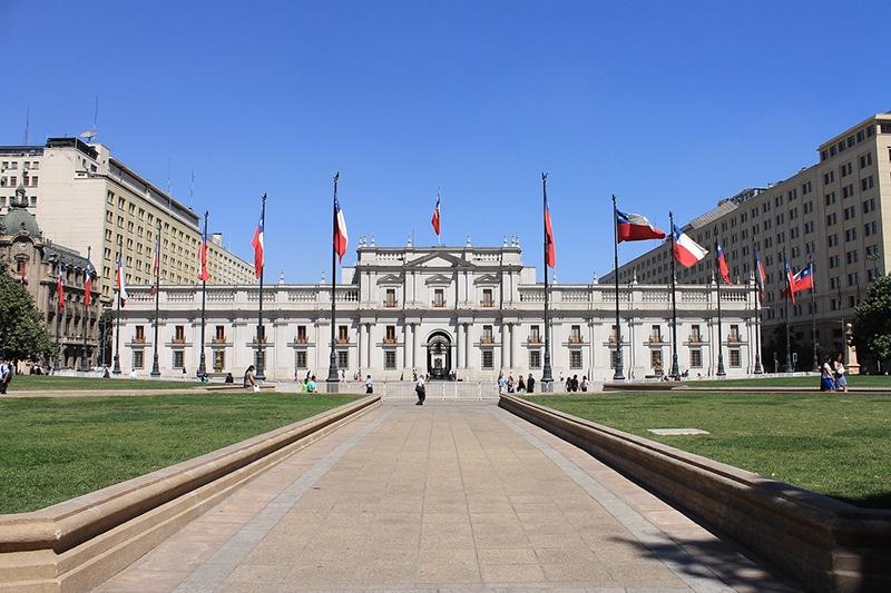 Como visitar o Palacio de La Moneda