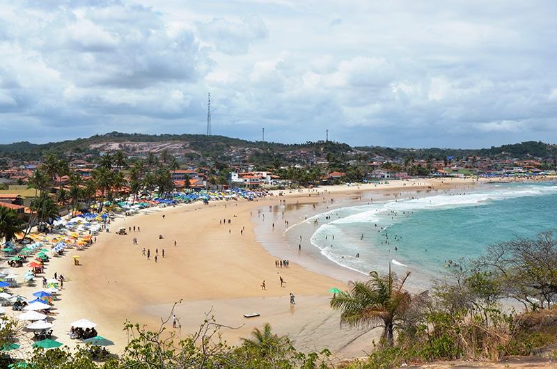 Praia de Gaibu em Pernambuco