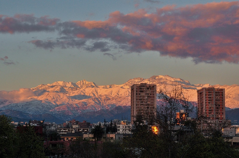Como montar um roteiro em Santiago