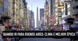 Clima e melhor época para viajar a Buenos Aires