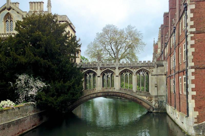 Pontos de interesse da cidade de Cambridge