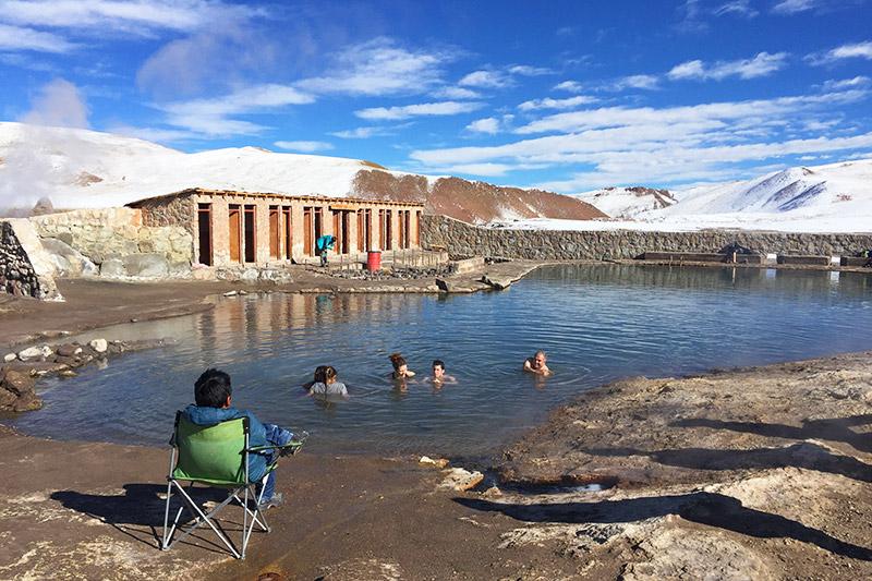 Lagoa nos Geysers el Tatio