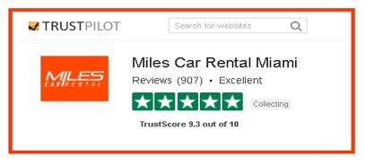 Melhores locadoras de carros em Miami