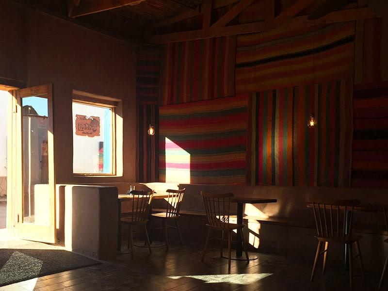 Restaurantes bons no Atacama